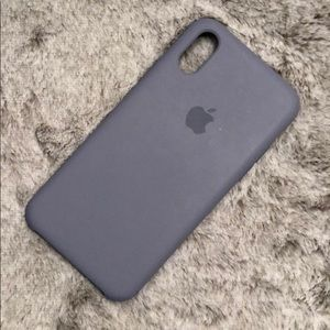 Apple iphone x/xs case - lavender gray